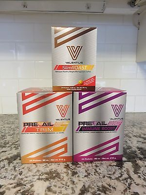 Valentus 12Lbs In 24Days Weightloss Diet Kit (3Boxes) - Free Shipping In Canada!