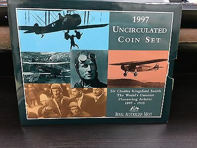 1997 Australian Mint Coin Set, Sir Charles Kingsford Smith