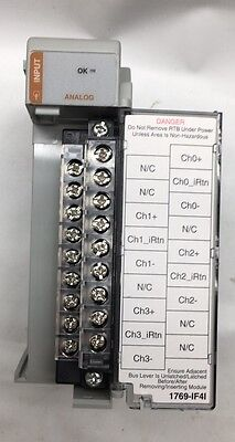 Allen Bradley 1769-IF4I Compact I/O Isolated Input Module 4 Channel