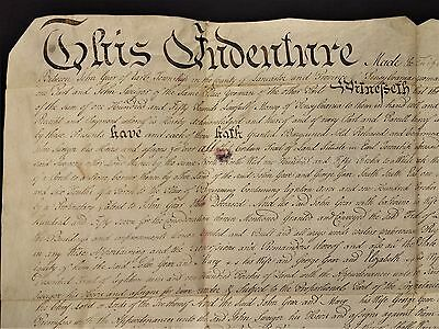 1773 antique COLONIAL DEED lancaster pa JOHN GEO GEHR to JOHN SWEIGER