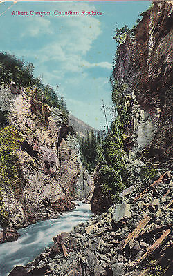 Albert Canyon, Canadian Rockies. Valentine & Sons Publishing Co. (1907-1923)