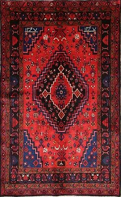 "Excellent Geometric Tribal 5x8 Hamadan Persian Oriental Area Rug 7' 8"" x 4' 10"""