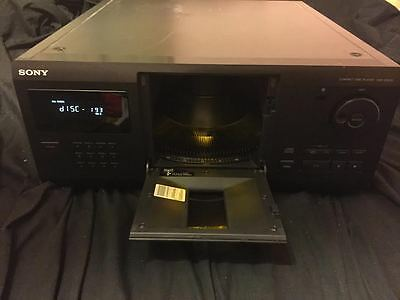 SONY CDP-CX225 200-Disc CD Player Changer Jukebox Mega Storage Carousel TESTED!