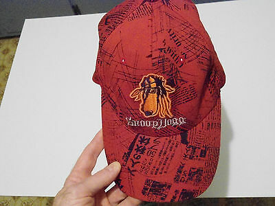 Snoop Dogg Hat Cap Rap Hip Hop N Mint Red Flexible Fit Texace Wool Cotton Tex