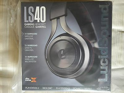 LucidSound LS40 7.1 Surround Sound Headset for XboxOne/PS4/PS3/Xbox 360 & Mobile
