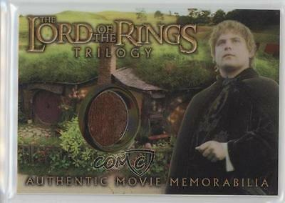 2004 Topps Chrome The Lord of the Rings Trilogy #SAET Sam's Elvin Tunic Card s2w