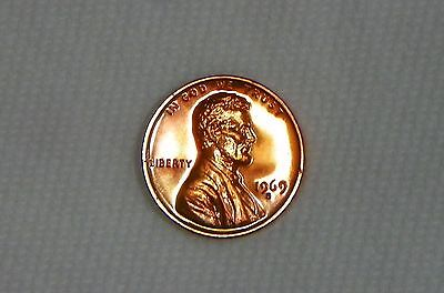 1969 S Proof Lincoln Cent Penny from U.S. Proof Set