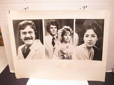 CBS TV show photo 1970s GUIDING LIGHT Curt Dawson Maureen Garrett Janet Grey