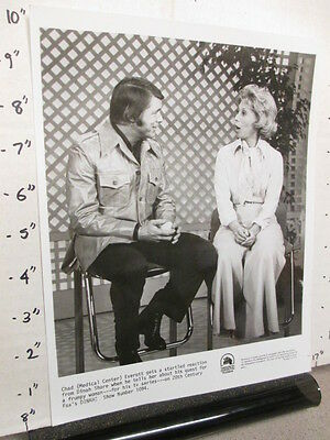 DINAH SHORE TV show promo photo 1970s CHAD EVERETT Medical Center