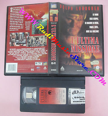 VHS film L'ULTIMA MISSIONE 1995 Dolph Lundgren Perry Lang FOX VIDEO (F99) no dvd