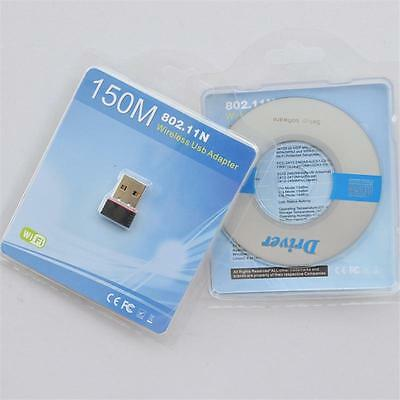 Wireless USB Adapter LAN Wifi Dongle for XP/Vista/Window 802.11 b/g/n 150Mbps AW