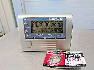 DYMO DateMark Electronic Date/Time Stamper Model 47002