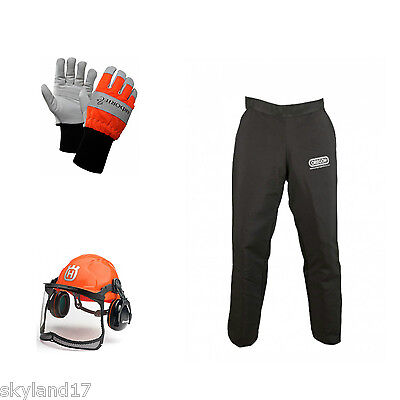 Chainsaw protective safety kit - Husqvarna, Oregon and Arbortec