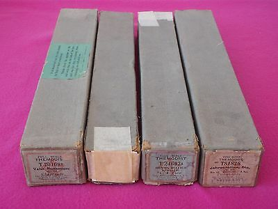 4 Vintage / Antique Themodist Full Scale Pianola Rolls - Boxed & VGC
