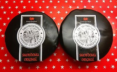 Snowdonia Cheese 2 x 400g Black Bombers - Best Deal on Web