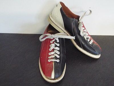 Ladies AMF Leather Ten Pin Bowling Shoes Mod Retro Northern Soul Dance UK 6 /39