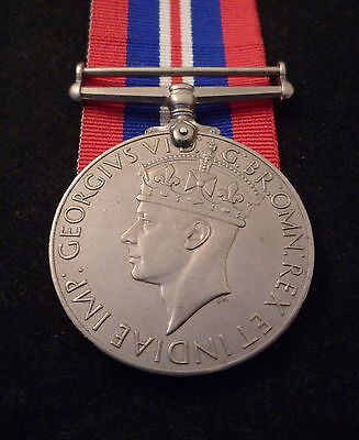 WW2 1939-45 British War Medal and box of issue