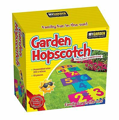 Kids Garden Pub Hopscotch Set Family & Friend Scribble Toy Game