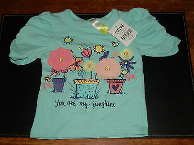 Baby Girl T-Shirt Size 0 - New