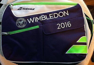 2016 Wimbledon Babolat Briefcase Laptop Bag New With Tags FREE SHIPPING