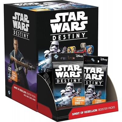 Star Wars Destiny: Spirit of Rebellion Booster Box (36 Packs)  NEW