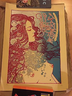 Queens of The Stone Age Milan 2013 Limited Print Malleus Numbered and Signed