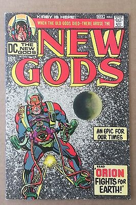 New Gods #1 (DC 1971) - White Pages Superb copy!! US 15C version by Jack Kirby!