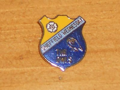 Rare Vintage Metal Sheffield Wednesday Football Club The Owls Pin Badge