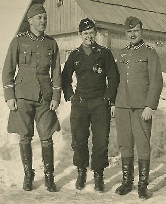 German WW2 Panzer Soldier Decorated Awards Photograph (682)