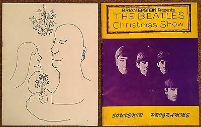 The Beatles, 2 Christmas Show Programmes 1963 And 1964 Originals Great Condition