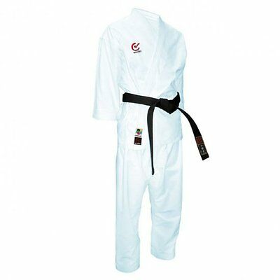 WKF Approved Karate Snapping Effect Gi 10oz Uniform Suit Kata Kumite Snap