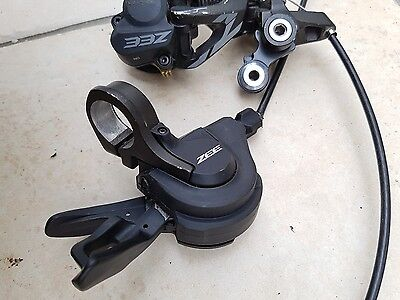 Shimano Zee Shifter And Rear Mech Downhill Mtb 10 Speed With Clutch Freeride