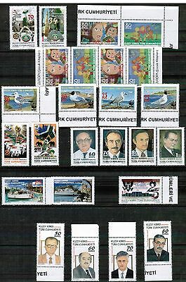 Unmounted Mint Yearly 2010 Set Turkish Cyprus