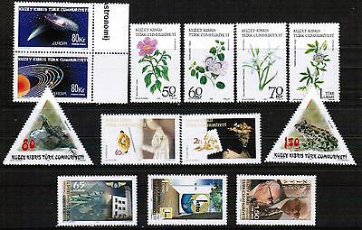 Unmounted Mint Yearly 2009 Set Turkish Cyprus