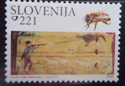 Slovenia 2005 Painted Beehive Panels. MNH