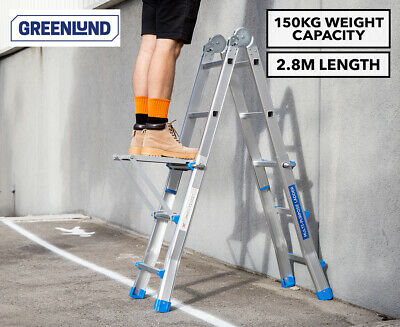 Greenlund Multi Purpose Folding Ladder online - tough jobs made easy