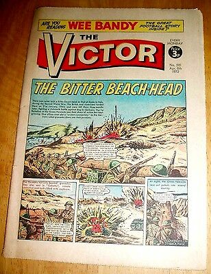 GREEN HOWARDS 1st BATTALION AT ANZIO  WW2  COVER  STORY  VICTOR  1972