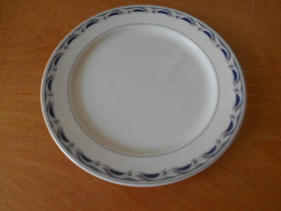 """Twelve 63/8"""" Plates  Rego Expressly for Continental Airlines 8-9802~NEW"""