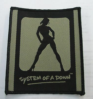 System Of A Down Collectable Rare Vintage Patch Woven 2000's Metal Live