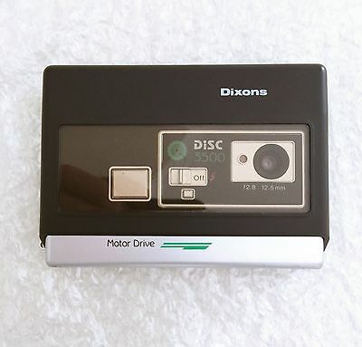 Display/Vintage/Retro/Film/Prop,1980's Dixons Disk 3500 Camera.