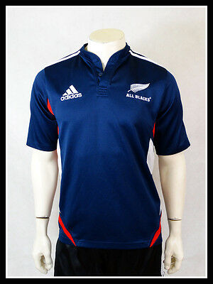 New Zealand All Blacks Rugby Union Shirt Jersey Trikot Adidas M