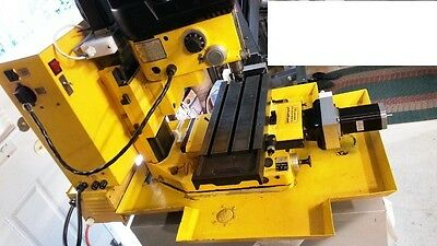 """Dyna 2400/2200 CNC Mill 4 axis MACH3/4 ready """"Made In USA"""" 1/8 micro-step"""