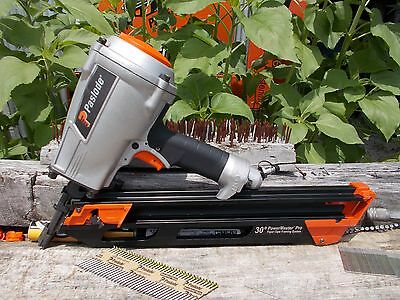 PowerMaster F350P Pro 30-Degree Pneumatic Framing Nailer #515000