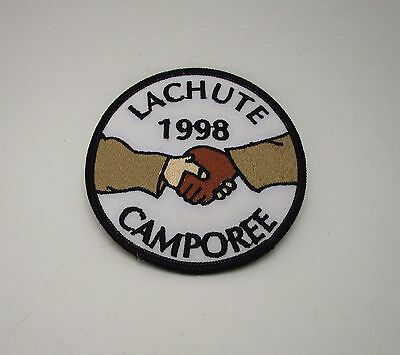 LaChute Camporee 1998 Scouts Badge Patch Unsewn