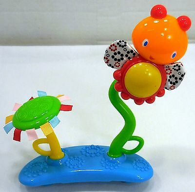 Bright Starts Bounce Around Activity Part Lady Bug Flower Spinning Toy 4843