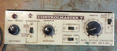 Mrc Controlmaster V Model Train Power Supply Parts Repair Restore Ho Scale N