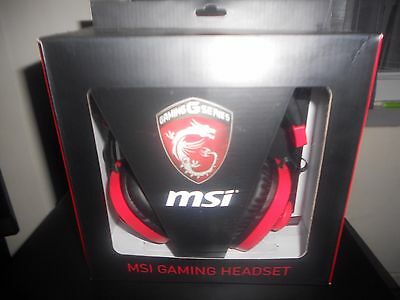 MSI - Micro-Casque Gamer GAMING Filaire