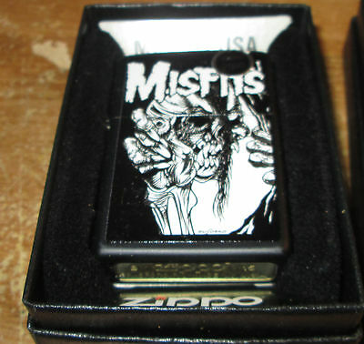 Misfits Zippo Lighter Authentic 2012 Licensed Rock N Roll