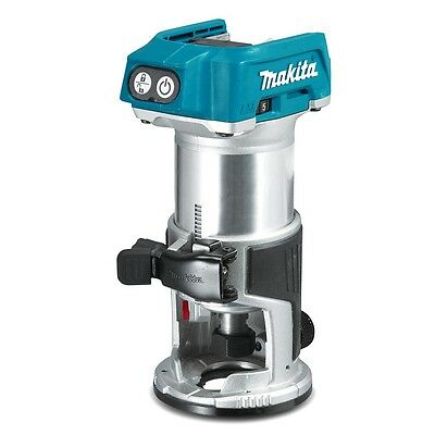 Makita 18V Li-ion Cordless Brushless Laminate Trimmer Router Skin New DRT50Z