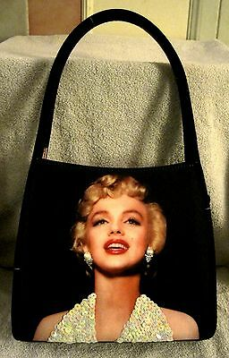Rare - Marilyn Monroe - Beautiful - Sequin & Pearl Embellished - Purse - Gift!!